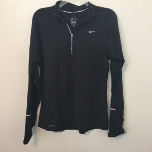 Nike Dri Fit Running Quarter Zip Pullover